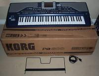 Korg Pa3X Workstation and PaAS Monitor System